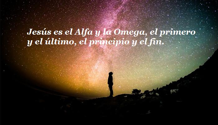 Jesús es el Alfa y Omega